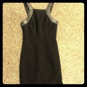 Ted Baker Black Knee-length Cocktail Dress Size 2